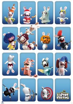 Raving Rabbids poster Cases http://www.abystyle-studio.com/en/raving-rabbids-posters/265-raving-rabbids-poster-cases.html