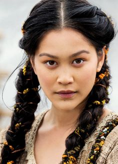 "vikingshistory: "" ""Vikings' Yidu played by Dianne Doan. "" """