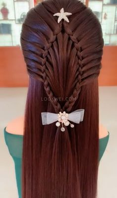 French hairstyle, want to learn it? French hairstyle, want to learn it? Hair Up Styles, Medium Hair Styles, Natural Hair Styles, Braided Hairstyles, Cool Hairstyles, Hairstyles Videos, French Hair, French Braids, Hair Videos