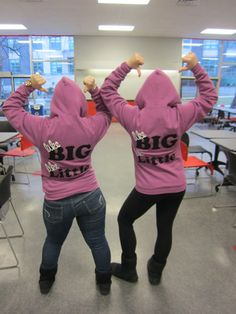 Big and Little Hoodies