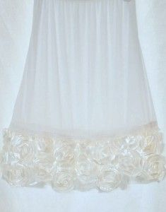 3e2ef57f2 White lace slip extender from Make Me Modest Romantic Outfit, Romantic  Clothing, Modest Clothing