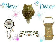 New products   http://www.therusticshop.com/?store=rusticjo