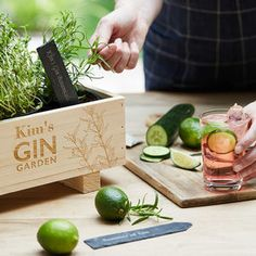 Are you interested in our Gin Cocktail Kit ? With our Grow Your Own Gin Cocktail Garden you need look no further. Gin Cocktail Recipes, Cocktails, Gin Recipes, Cocktail Drinks, Cocktail Book, Cocktail Ideas, Growing Raspberries, Gin Gifts, Raised Bed Garden Design
