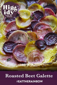 Our Roasted Beet Galette will add a pop of colour to your plate whilst being super easy to make, click here to find the recipe Drop Scones, Eat The Rainbow, Roasted Beets, Family Kitchen, Larder, Beetroot, Super Easy, Carrots, Fries