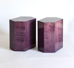 Profiles     200 Lex Showroom    BD Purple Haze Side Table