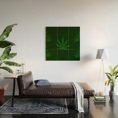 Weed Wood Wall Art 2