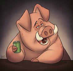 S. T. Lewis #pig