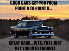 Good Vs Great Cars!