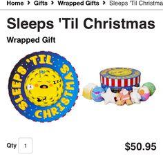 Sleeps Till' Christmas $50.95 http://www.lushusa.com/Christmas/christmas,en_US,sc.html