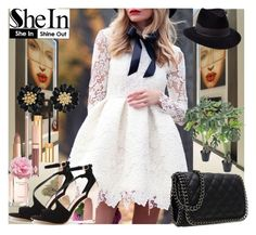 """1#SheIn"" by fatimka-becirovic ❤ liked on Polyvore featuring Penmayne of London, Yves Saint Laurent and Tommy Hilfiger"