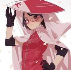 Sarada as the hokage