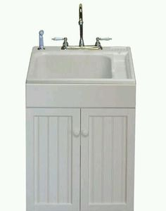 Lovely Something Like This Cabinet/sink Base For My Laundry Tub In The Mudroom.