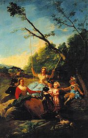 Francisco José de Goya - The swing