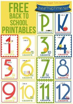 10 First Day of School Picture Ideas & Printables   TheSuburbanMom