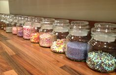 Love this idea for my douwe egberts flavour jars to store any cake decorations in #BzzAgent #GotItFree #supercuteidea