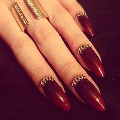 Chained nails