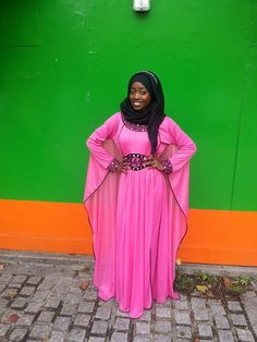 You can never go wrong with a kaftan for Eid, but you should ditch this dress if it rains. Even light rain can ruin the material and cause your awrah to be easily exposed. - Habiba West