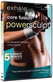 Workout with Exhale Core Fusion Power Sculpt DVD
