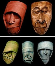 toilet paper tube heads --so fun with kids!