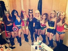 Halloween 2014: Halloween Group Costumes for Ladies and Girls 30 Awesome Ideas