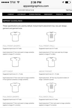 Where to place heat vinyl on shirts