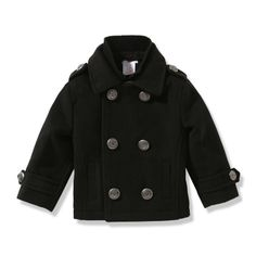 Baby Boys' Peacoat - Joe Fresh can't wait to match my husband and the baby!