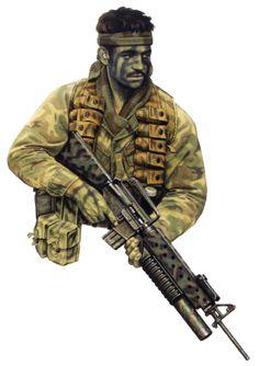 Patrol member, 2 Sqn SASR, 1971