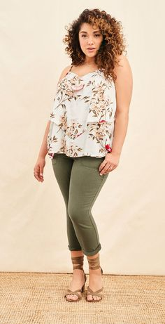 Plus Size Outfit for Summer - Plus Size Fashion for Women #plussize
