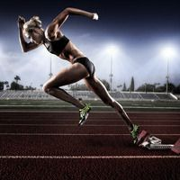 Joel Grimes Photography - Combination Print - Collins - Heptathlon Athlete