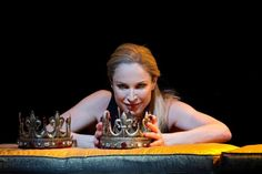 """Come, you spirits, That tend on mortal thoughts, unsex me here,And fill me from the crown to the toe top-full Of direst cruelty!"" Lady Macbeth gets herself ready to kill the king."