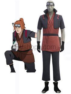 Naruto Yamanaka Fu Uniform Cloth Cosplay Costume