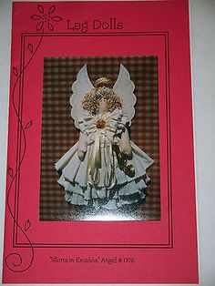 Craft sewing pattern - Gloria in Excelsis Angel - Uncut