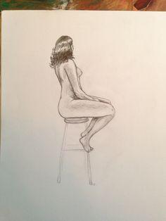 Life drawing. 25 mins Life Drawing, Pencil Drawings, Art, Art Background, Kunst, Performing Arts, Pencil Art, Art Education Resources, Artworks