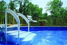 1000 Ideas About Above Ground Pool Ladders On Pinterest Pool Ladder Above Ground Pool And