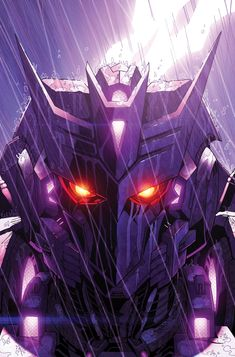 Pretty rad Decepticon design, like the symbol present somewhat in the head. Of course, I have that symbol decal on my car, along with the Autobot symbol. The car's a double agent named Code Red, but oddly, I've never seen it transform.