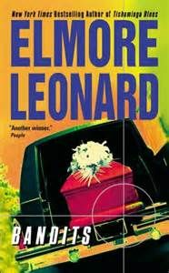 "Elmore Leonard's books -   Bandits (1987) Reformed jewel thief Jack Delaney is working at his brother-in-law's New Orleans funeral home when he gets a call from the leper hospital to pick up a body. But the ""deceased"" is very much alive. Sister Lucy, a radical ex-nun in designer jeans, is looking to spirit the ""dead"" young woman away from a Nicaraguan colonel and his goons - And spirit away some of the colonel's millions while she's at it - And Jack Delaney's ""talents"" could come in handy."
