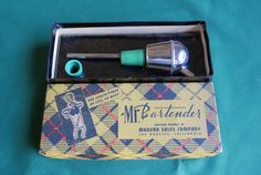 Vintage Mr. Bartender Chrome Jigger in Original Box, Retro Mid Century Barware, Modern Sales Company by CactusWrenVintage on Etsy