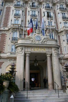 Cannes - Le Carlton by Pixoeil, via Flickr