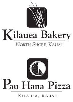 Logo for The Bakery In Kilauea and Pizza In Kauai