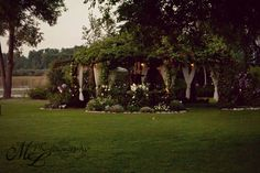 One acre private garden event location located in Coldwater, MI. --photo by MLPhotography