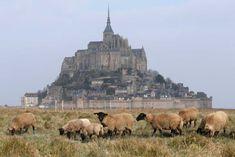 Mon St. Michel before the supertide