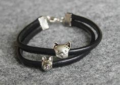 kitty / pigy bracelet
