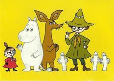 Log in on Postcrossing Moomin Valley, Tove Jansson, Back In My Day, Little My, Neverland, Finland, Childhood Memories, My Idol, Disney Characters