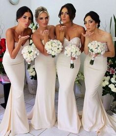 2014 Beige Mermaid Bridesmaid Dresses Hot Sell Maid of Honor Bride Dress Sequined Sweetheart Long Amazing Mermaid Evening Dresses with Belt http://www.dhgate.com/store/product/2014-beige-mermaid-bridesmaid-dresses-hot/192916906.html