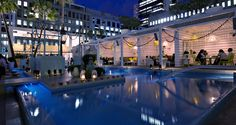 The Ivy Pool Club bar Sydney.  This is an interesting place to go -  once.  Get a feel for how the Aussies do a pool party.  It is gorgeous with gorgeous people.  Repeated visits might make the you feel the guests are a shallow as the pool.  But it is worth a look. The whole Ivy Club has many floors of chic interiors and beautiful people (at least at the beginning of the night). lol