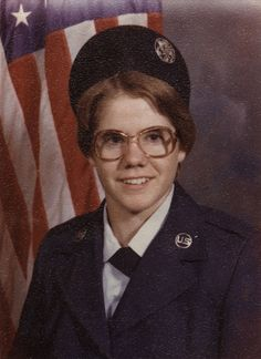 Portrait of Therese Strohmer, circa 1980 - The Betty H. Carter Women Veterans Historical Project - UNCG University Archives