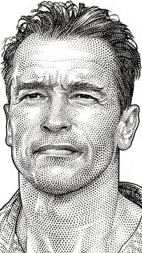 Wall Street Journal Hedcut Portfolio by acclaimed illustrator and portrait artist Randy Glass including celebrities, pen & ink, stipple, portraits, pointillism. Dotted Drawings, Pencil Art Drawings, Art Sketches, Celebrity Caricatures, Celebrity Drawings, Pencil Portrait, Portrait Art, Immaculée Conception, Stippling Art