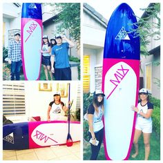 Thank you for sharing your MixCaLa with us. What a lovely color! Love the matching color paddle you got, hope you guys have a nice weekend. Enjoy your new MixCaLa board and paddle. MIXCALA.COM