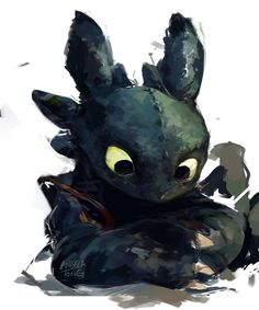Toothless yet again by Dreamsoffools.deviantart.com on @DeviantArt