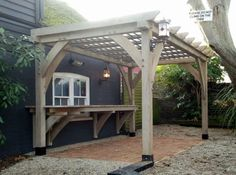 Wooden Pergola/Covered lean to ideas - Page 1 - Homes, Gardens and ...